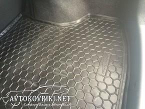 Купить коврик в багажник Nissan Sentra 2015- полиуретановый Авто