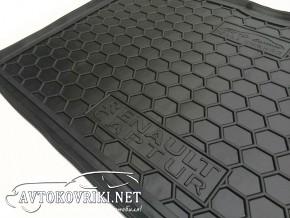 Купить коврик в багажник Рено Каптур 2015- нижняя полка полиурет
