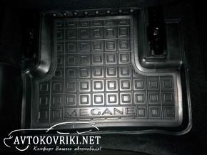 Резиновые коврики салон автомобиля автоковрики Рено Меган 4 AVTO