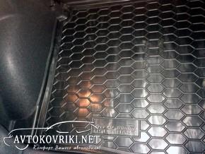 Коврик в багажник Рено Меган 4 2016- Хэтчбек полиуретановый Авто