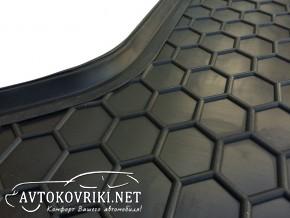 Фото коврик в багажник Тойота Ярис 2015-  полиуретановый Автогум