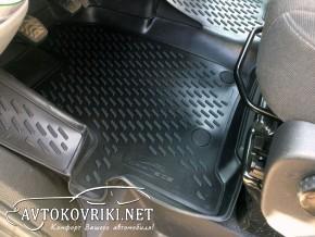 Купить 3D коврики в салон для Ford Custom 2012- (9 мест) Novline