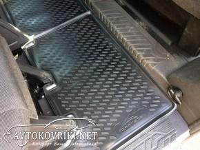 Купить в Киеве 3D коврики в салон для Ford Custom 2012- (9 мест)