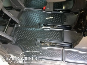 Отправка по Украине 3D коврики в салон для Ford Custom 2012- (9