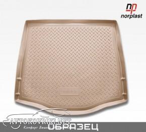 Коврик в багажник для Порш Кайен 2010- (2-х зон. климат-контроль