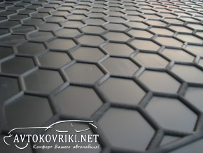 Купить коврик в багажник Ауди А3 Седан 2012- полиуретановый Авто