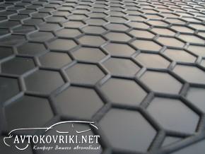 Купить коврик в багажник Рено Дастер 4WD 2018- полиуретановый Ав