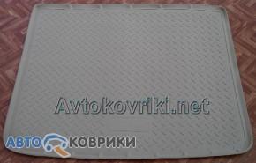Коврик в багажник для Volkswagen Touareg 2010- (2-х зон. климат-