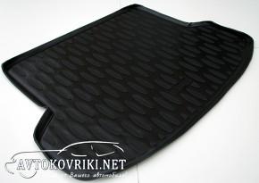 Коврик в багажник для Hyundai IX-35 2010- полиуретановый Aileron