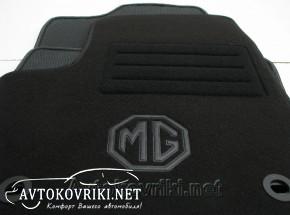 Коврики в салон текстильные для MG 550 2011- черные ML Lux 4 кли
