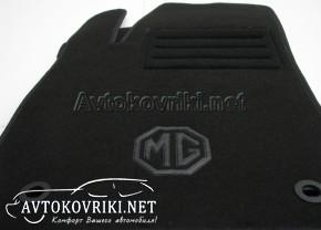 Купить текстильные коврики в салон МГ 350 2012- черные Люкс