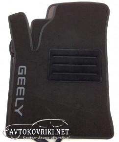 Текстильные коврики в салон для Geely CK/CK2 2005- черные ML Lux