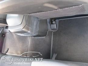 Коврики в салон текстильные для Hyundai I-30 2012- черные ML Lux