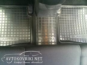 Коврики в салон Avto-Gumm для Hyundai Elantra 2007- модельные