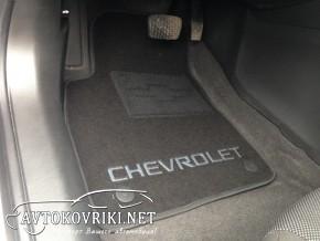 Текстильные коврики в салон для Chevrolet Cruze 2009- черные ML