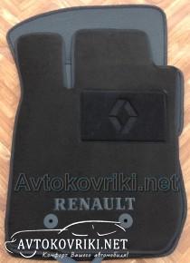 Текстильные коврики в салон для Renault Duster 2010- черные ML L
