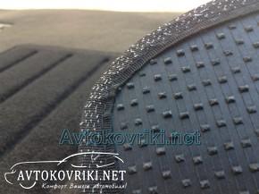 Коврики в салон текстильные для Kia Sorento 2002-2009 серые ML L