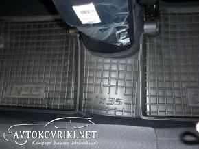 Коврики в салон автомобиля Хюндай IХ-35 2010- Автогум полиуретан
