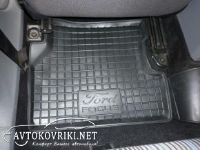 Коврики в салон автомобиля Форд Фокус 2 2005- Автогум полиуретан