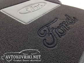 Купить ворсовые коврики Форд Фокус II 2004-2011 черные Milan