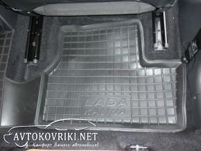 Автомобильные коврики в салон для Lada Kalina 1117-19,