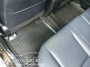 Коврики автомобильные в салон Тойота Рав4 2013- Автогум полиурет