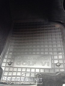 Коврики в салон для VOLKSWAGEN Golf VI 2009-2013 AVTO-Gumm