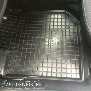 Коврики автомобильные в салон Рено Логан Универсал MCV 2013- Авт