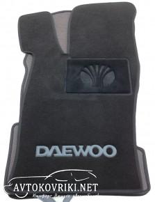 Текстильные коврики в салон для Daewoo Nexia 1998- черные ML Lux