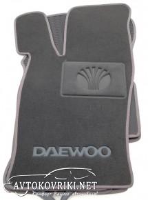 Текстильные коврики в салон для Daewoo Nexia 1998- серый ML Lux
