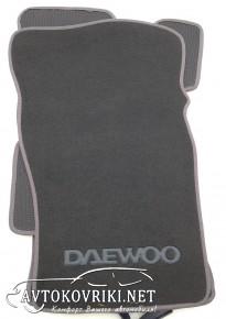 Купить текстильные коврики в салон Daewoo Nexia 1998- серые ML L