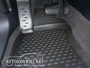 Коврики в салон для Audi A6 (C6) 2005-2011 черные