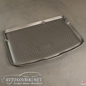 Коврик в багажник для Mazda 2 2007- полиуретановый NorPlast