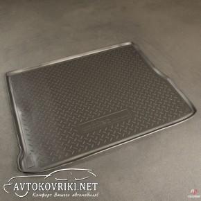 Коврик в багажник для Renault Scenic 2009- полиуретановый NorPla