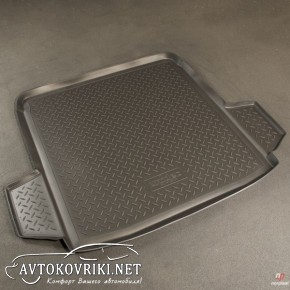 Коврик в багажник для Volkswagen Passat B6 Sedan 2005-2011 полиу