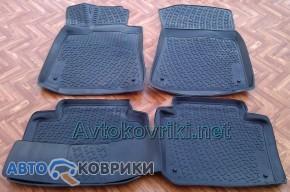 Модельные автомобильные 3D коврики в салон для LEXUS GS, разрабо