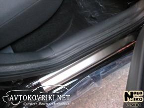 Накладки на пороги Skoda Octavia Tour 1996-2010