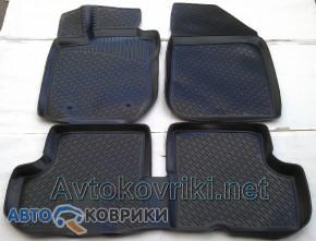 3D коврики в салон для Renault Duster 4*2 2010- Lada Locker