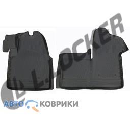 3D коврики в салон для Renault Master 2011- передние L.Locker