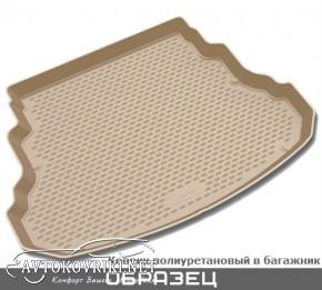 Коврик в багажник для Chevrolet Lacetti Wagon 2004- полиуретанов