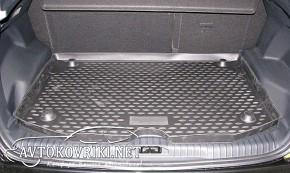 Novline Коврик в багажник автомобиля Citroen C3 Picasso 2009- по