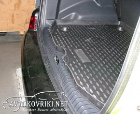 Коврик в багажник автомобиля Ситроен С3 Пикассо 2009- Новлайн