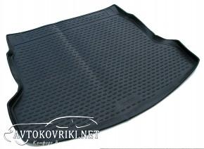 Коврик в багажник автомобиля Honda CR-V 2013- полиуретановый чер