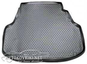 Novline Коврик в багажник автомобиля Hyundai Equus 2013- полиуре