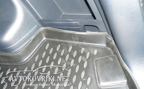 Коврик в багажник автомобиля Хюндай ix35 2010- Новлайн