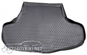 Novline Коврик в багажник автомобиля Infiniti G 2010- полиуретан