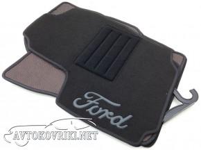 Текстильные коврики в салон для Ford Mondeo 2007-2015 черные ML