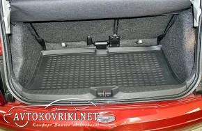 Коврик в багажник автомобиля Nissan Micra 2002-2010 полиуретанов