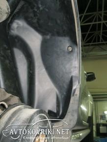 Подкрылок Renault Duster 4x4 2010- задний левый Novline