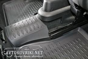Коврики в салон для Ford Fiesta 2002-2008 черные